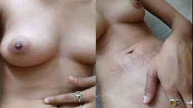 Horny Desi woman fingers XXX twat on cam showing need in proper sex