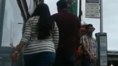 Candid Desi Tamil Girl - FAT Huge Round Butt