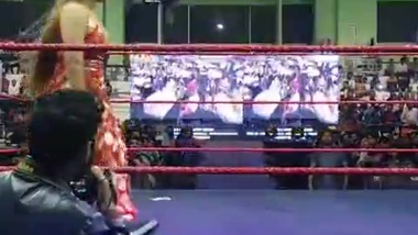 When Indan Lady Seducing REBEL ( Wrestler )