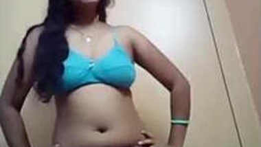 Awesome XXX striptease session of Indian babe with moist pussy