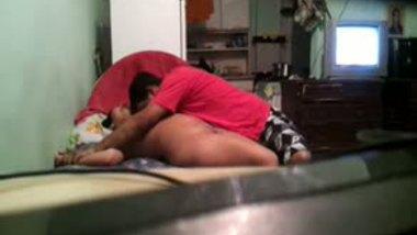 Indian hidden cam home sex of Gujju housewife