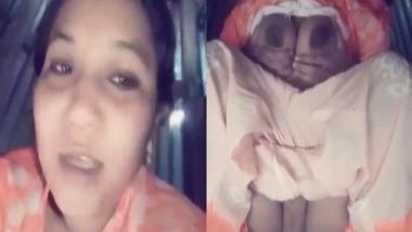 Bangladeshi housewife fingering pussy with Bangla Talk
